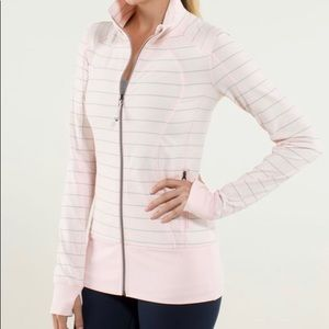 Lululemon | Pink and Grey Jacket | Size 4